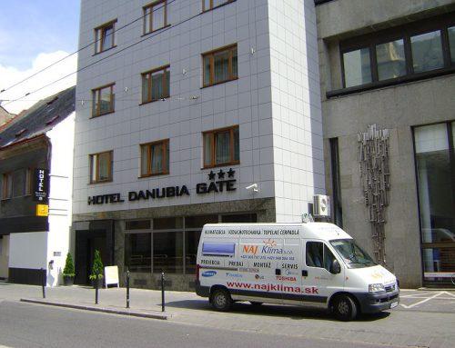 Hotel DANUBIA GATE Bratislava – klimatizácia zn. LG ART COOL