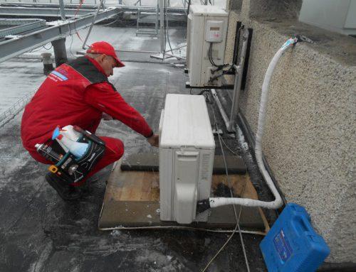 Servisné práce klimatizačných zariadení – SLOVANET a.s. – Východ