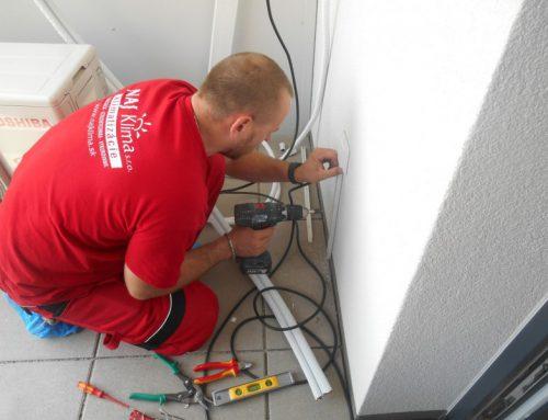 Montáž klimatizačnej jednotky – Wien