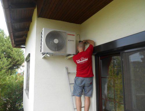 Montáž klimatizačnej jednotky AT