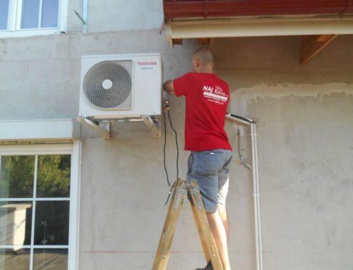 Montáž klimatizačnej jednotky AT – Bohac
