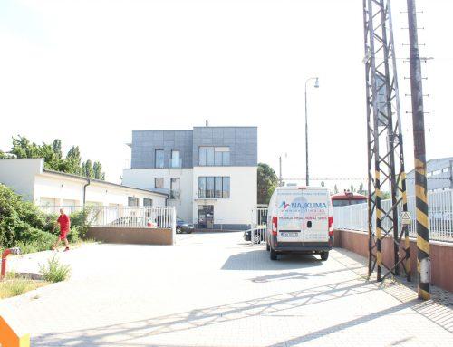 Klimatizacia priestorov budovy ŽSR – VVÚŽ – Nobelova 50, Bratislava