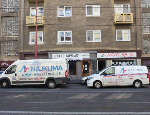 Odsávanie kuchyňe a vzduchotechnika Bistro Suvlaki – Krížna 8, Bratislava